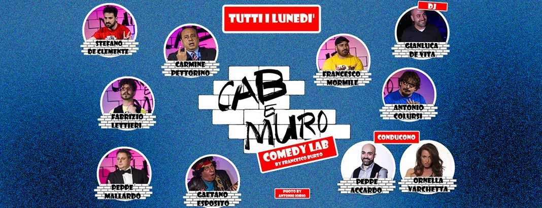Cab&Muro Comedy Lab, la palestra della risata