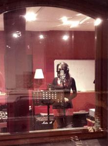 Barbara Pironti in studio
