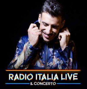 Francesco Gabbano ospite al concenrto di Radio Italia Live