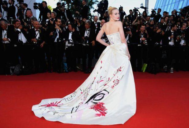 Elle Fanning a Cannes 2017