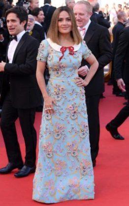 Salma Hayek a Cannes 2017