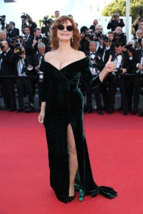 Susan Sarandon a Cannes 2017