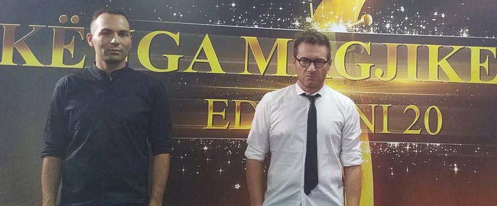 Matteo Becucci e Manuel Moscati al Festival in Albania