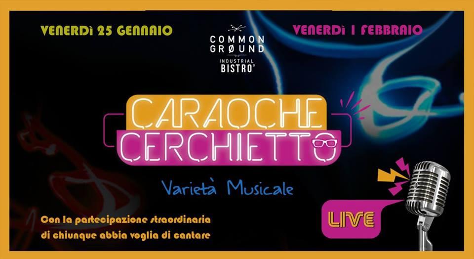 Caraoche Cerchietto live