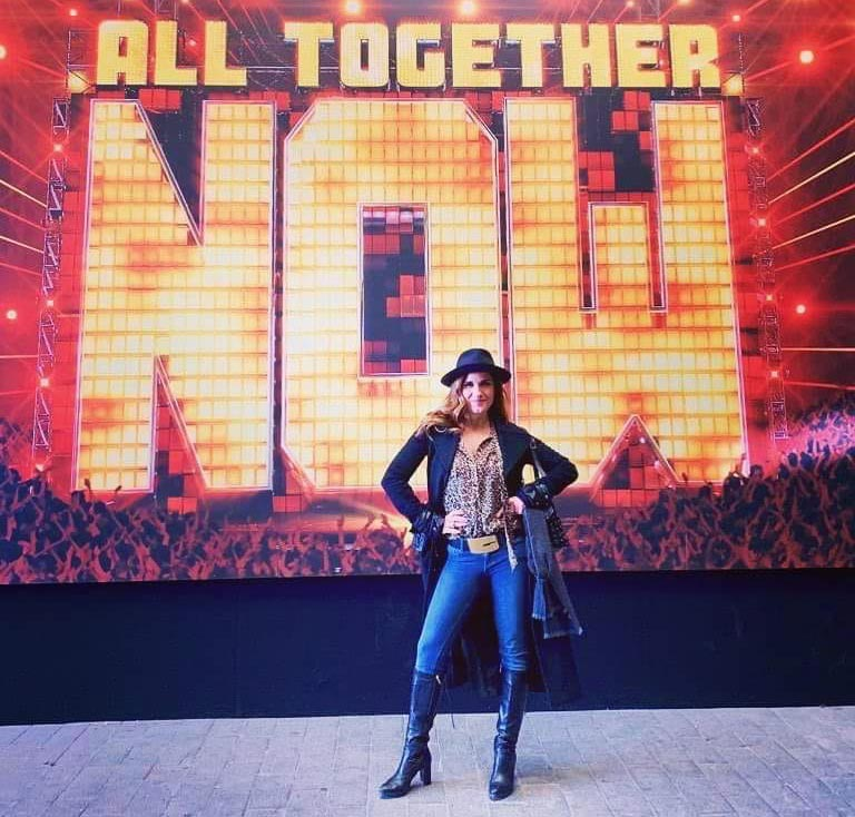 Simona Bencini giudice di All Together Now