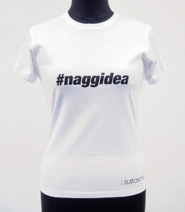 T-Shirt #naggidea mod. D001N
