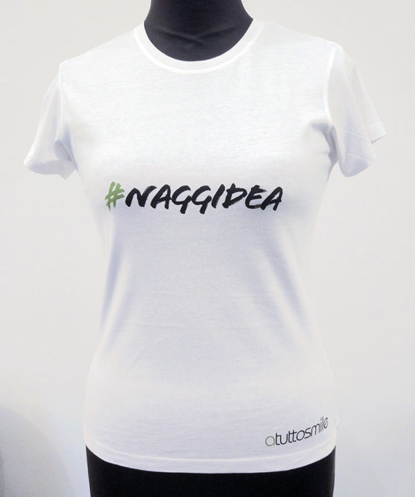 T-Shirt #naggidea mod. D001V
