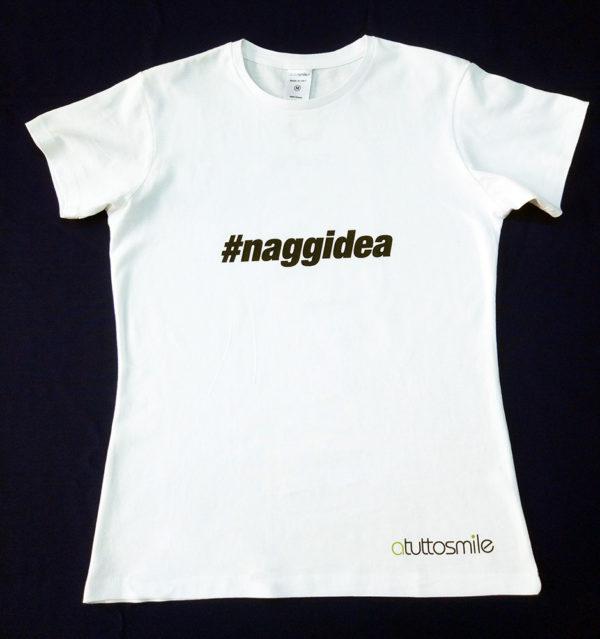 T-Shirt #naggidea mod. U001N